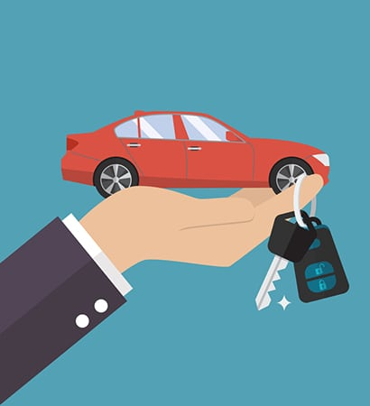 Privégebruik auto per kalenderjaar